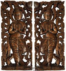 Thai Home Decor by Thai Wood Carving Oriental Home Decor Carved Wood Panels U2013 Asiana