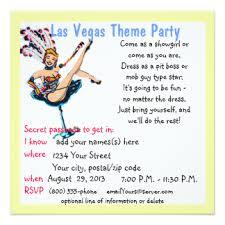 casino night theme invitations u0026 announcements zazzle