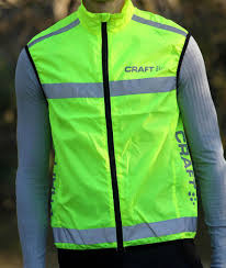 fluorescent cycling jacket review craft active safety vest road cc