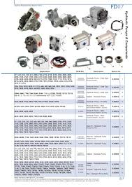 ford hydraulic pumps page 233 sparex parts lists u0026 diagrams