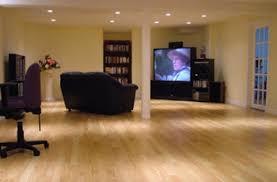 wood floor in basement basements ideas