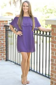 ecu game day attire purple and gold dresses