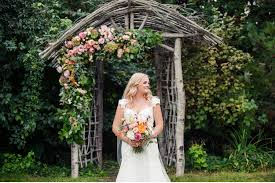 wedding arch kelowna vale vine woodland floral arch for an okanagan wedding home