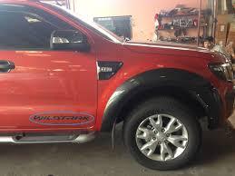 Ford Ranger Truck Decals - for ford ranger 2012 2014 pick up set 3pcs black sticker decals