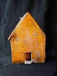 tricia tusa s ceramic houses show artist s whimsical spirit