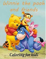 amazon disney winnie pooh coloring activity book