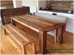 Wood Kitchen Table With Bench Seating Designs Ideas Dining Bench - Bench for kitchen table