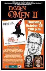 damien omen ii screens at library south pasadena news