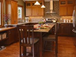 Warm Modern Kitchen - kitchen decorating kitchen colors with light wood cabinets