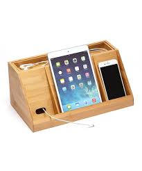 gadgets desktop organiser cable tidy with a drawer holes for