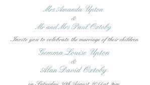 wedding quotes groom wedding invitation wording by and groom wedding