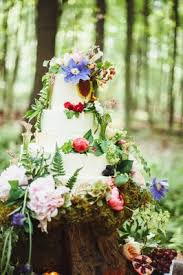 a bohemian inspired wedding shoot in an enchanted forest inside