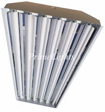 6 lamp t5ho highbay flourescent 12 fixtures w lamps