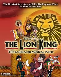 pnf disney u0027s lion king broadway poster rdj1995