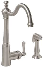 single handle kitchen faucet with side spray single handle kitchen faucet with matching side spray premier faucet
