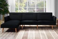 Small Loveseat With Chaise Small Sectional Sofa Ebay