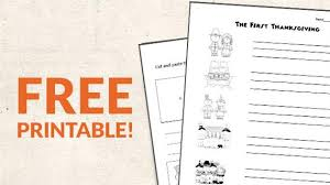 free printable thanksgiving sequencing worksheets weareteachers