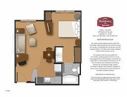residence inn floor plans studio floor plan fresh live work the dreyfus home house plans