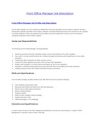 Dental Office Manager Resume Examples by Office Manager Responsibilities Resume Example 3 Ilivearticles Info