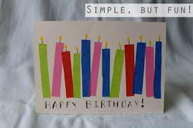birthday card easy to make birthday cards print quick cool