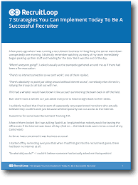 6 essential sales tips for recruiters