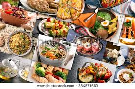 cuisine le gal different countries cuisine varied dishes prepared stock photo 100