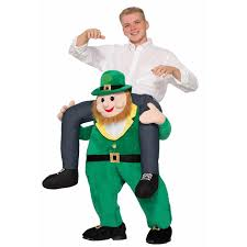 oversized halloween costumes adults ride a st patrick u0027s day leprechaun costume buycostumes com