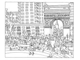 46 coloring book dream cities images