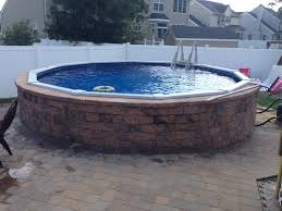 128 best above ground pool deck images on pinterest backyard