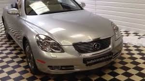 used lexus sc430 for sale uk 2006 56 lexus sc430 4 3 v8 2dr auto convertible only 12 200