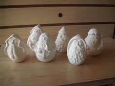 ceramic bisque lithuanian santa u paint kimple unpainted