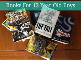 books for 13 year old boys planning with kids