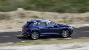 Audi Q5 Blue - 2018 audi q5 tfsi quattro color navarra blue side hd