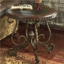 Wood Round End Table End Tables Hartford Bridgeport Connecticut End Tables Store