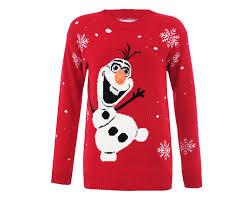 christmas jumper olaf jumper christmas jumpers