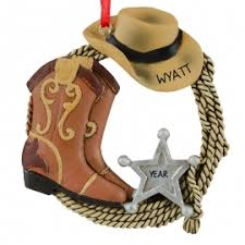 western boots ornaments gifts ornaments for you