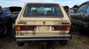 volkswagen rabbit junkyard treasure 1981 volkswagen rabbit diesel autoweek