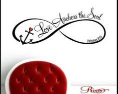 Love Anchors The Soul Wall - hope anchors the soul wall decal vinyl sticker home decor wedding