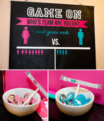 baby shower gender reveal girl vs boy gender reveal party hostess with the mostess