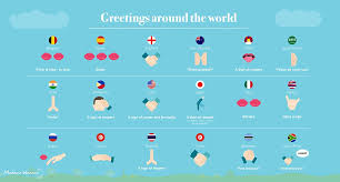 the handy etiquette guide to greetings around the world
