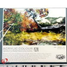 marie u0027s acrylic paint set 12 pieces art u0026 craft online store