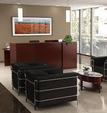 Reception Desk Shell Insignia 96 X 36 Wood Veneer Reception Desk Shell New Ofw
