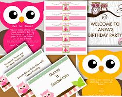 anya u0027s owl themed birthday party stovetop dancing