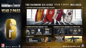 Buy Rainbow Six Siege Gold Rainbow Six Siege Year 2 Season Pass Is Now Available Includes