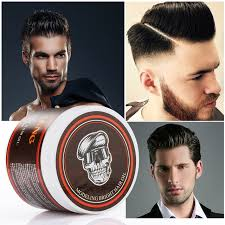 Pomade Wax 120g professional hair wax pomade hair pomade styling wax skeleton