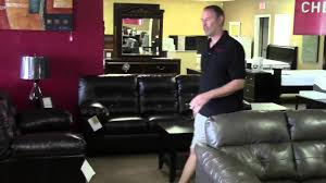 We Sell Ashley Furniture Tampa Leather Sofa Leather Love Seat - Ashley furniture tampa
