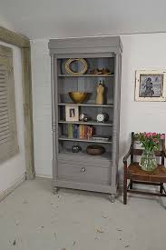 tall slimline shabby chic french bookcase sold items the