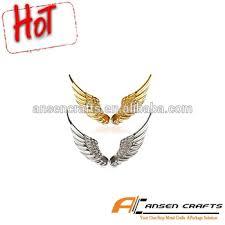 2015 designs of 3d alloy metal hawk wings design car