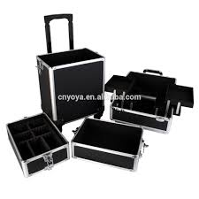 professional rolling makeup trolley nail technician vanity box