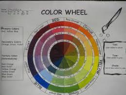 color wheel template tints tones shades color wheels
